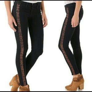 Rag & Bone Bengal Embroidered skinny jean
